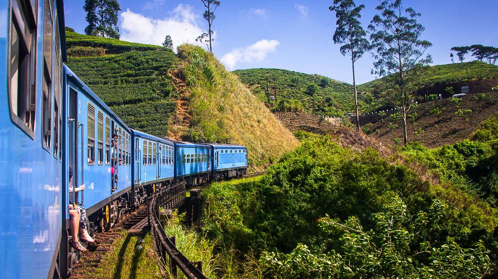 Train de Nuwara Eliya à Kandy, Sri Lanka © Shutterstock