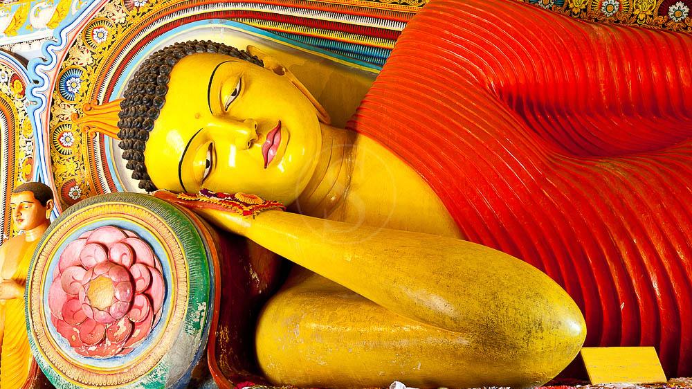 Bouddha au temple de  Isurumuniya, Sri Lanka © Shutterstock