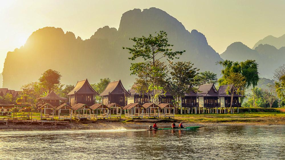 Rivière Nam Song, Laos
