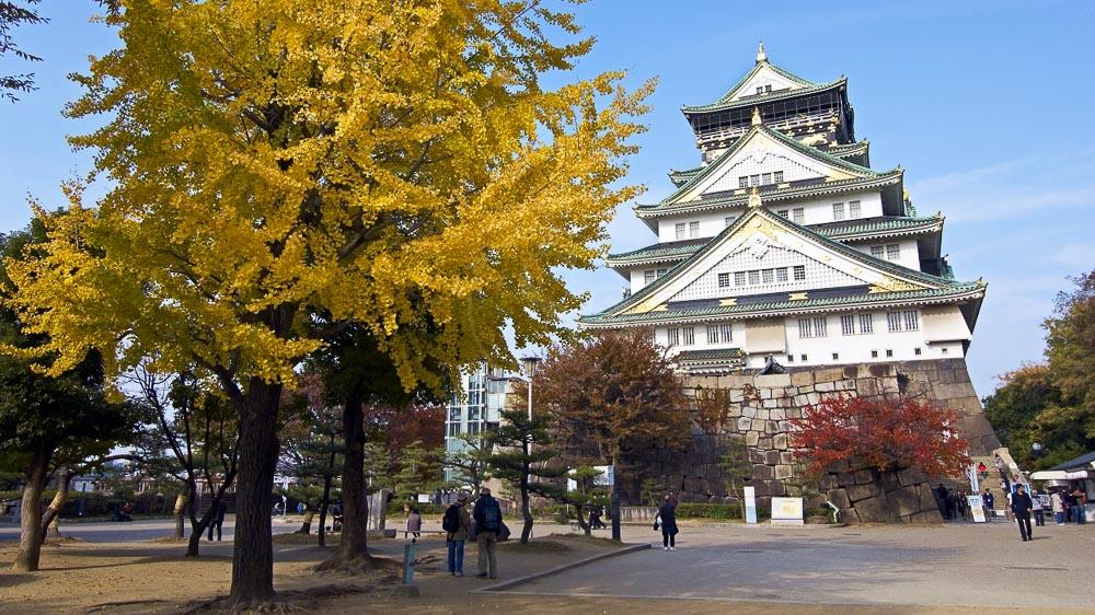 Palais de Osaka, Japon © jnto
