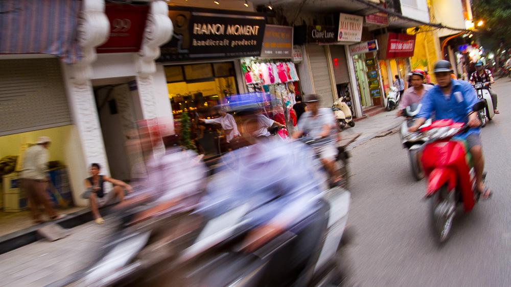 Balade dans Hanoï, Vietnam