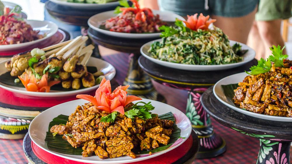 Cours de cuisine à Bali, Indonésie