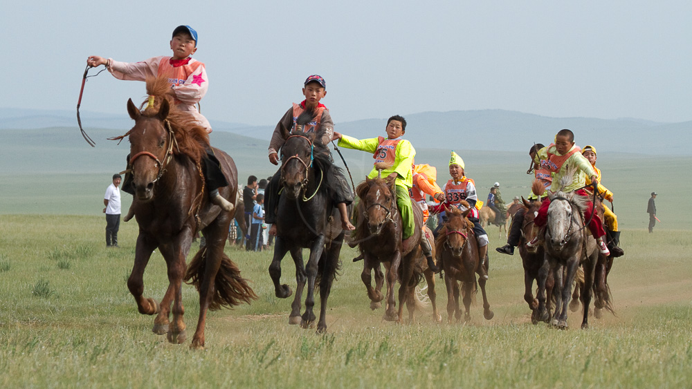 Fête du Naadam, Mongolie