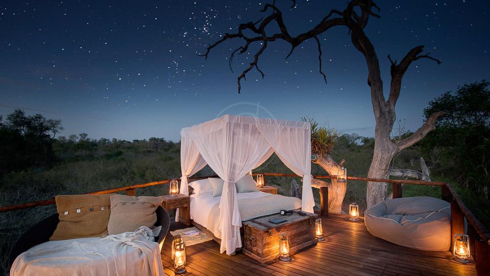 Lion Sands Chalkley Treehouse, Afrique du Sud © More Properties
