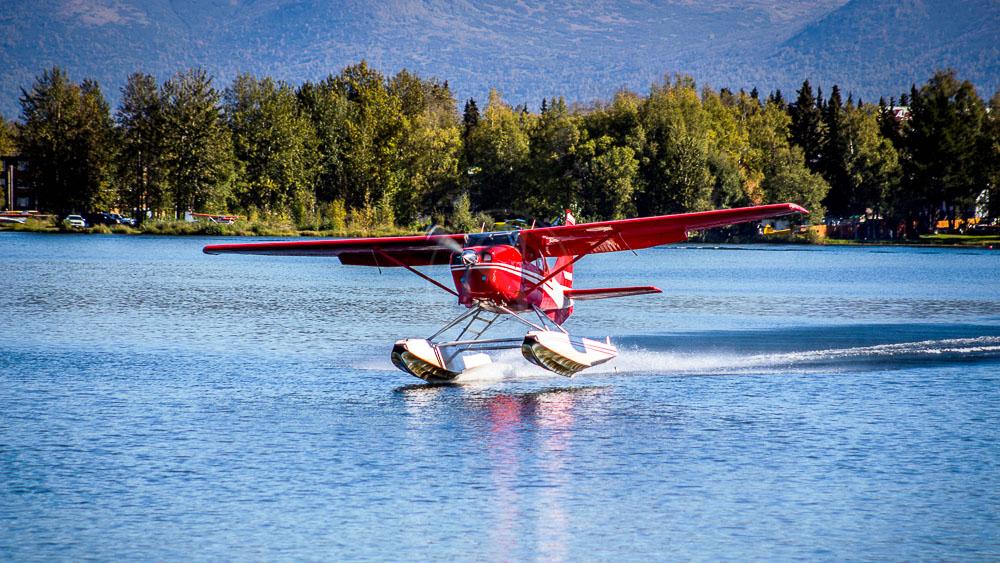Départ de Anchorage, Alaska