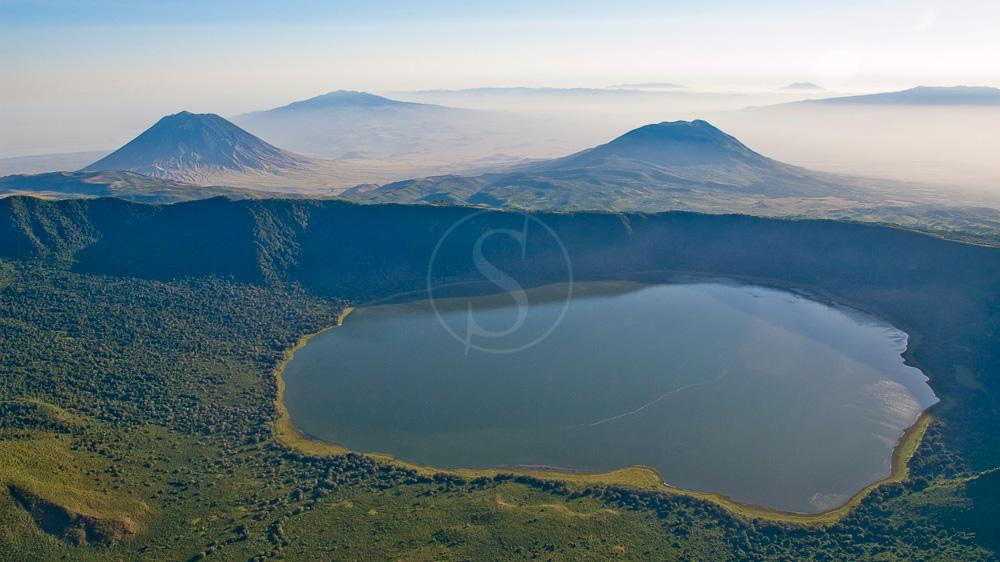 Crater Empakai, Tanzanie © Asilia