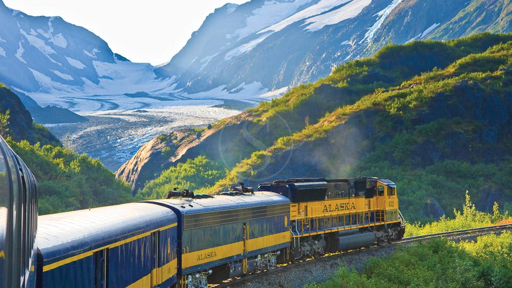 Spencer Glacier, Alaska © OT Alaska