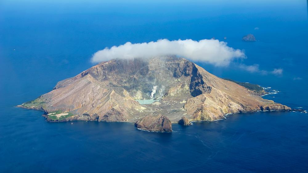 White Island, Nouvelle Zélande © Shutterstock