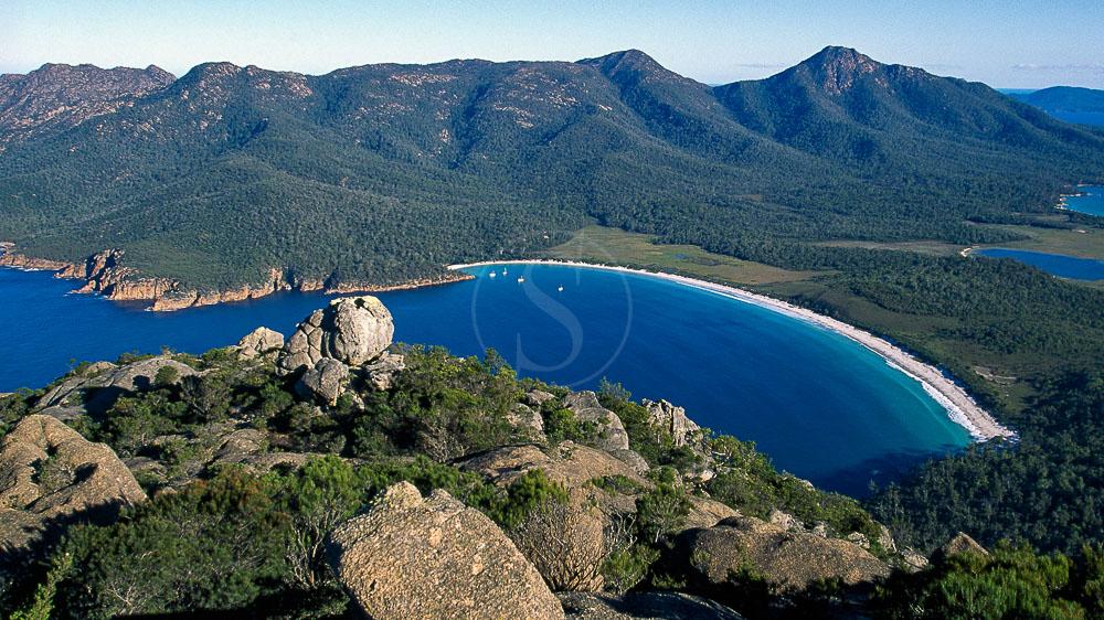 Parc de Feycinet, Tasmanie, Australie © OT Australia