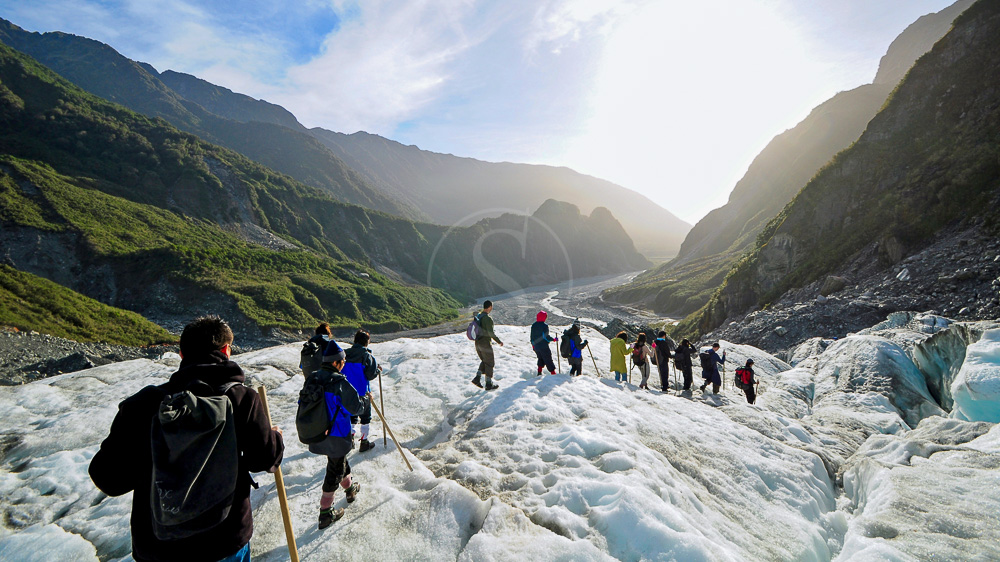 Fox Glacier, Nouvelle Zélande © Shutterstock