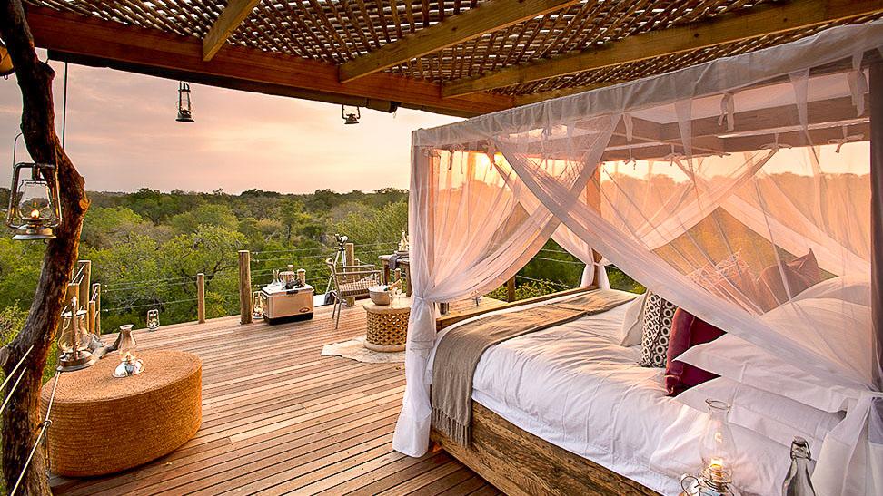 Kingstone Treehouse de Lion Sands, Afrique du Sud