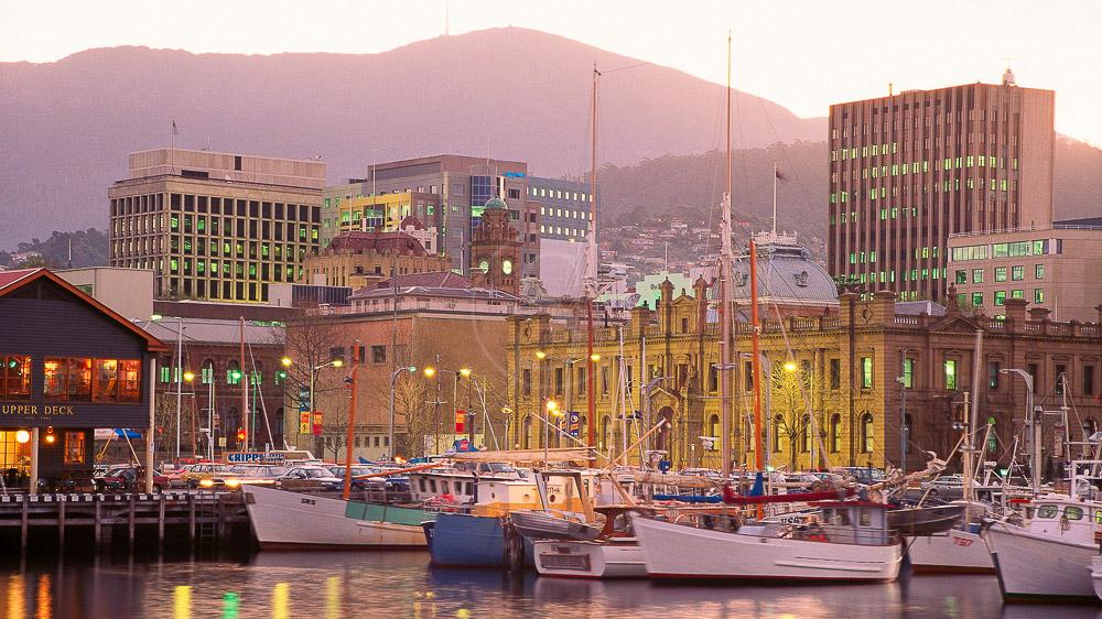 Hobart, Tasmanie, Australie © OT Australia