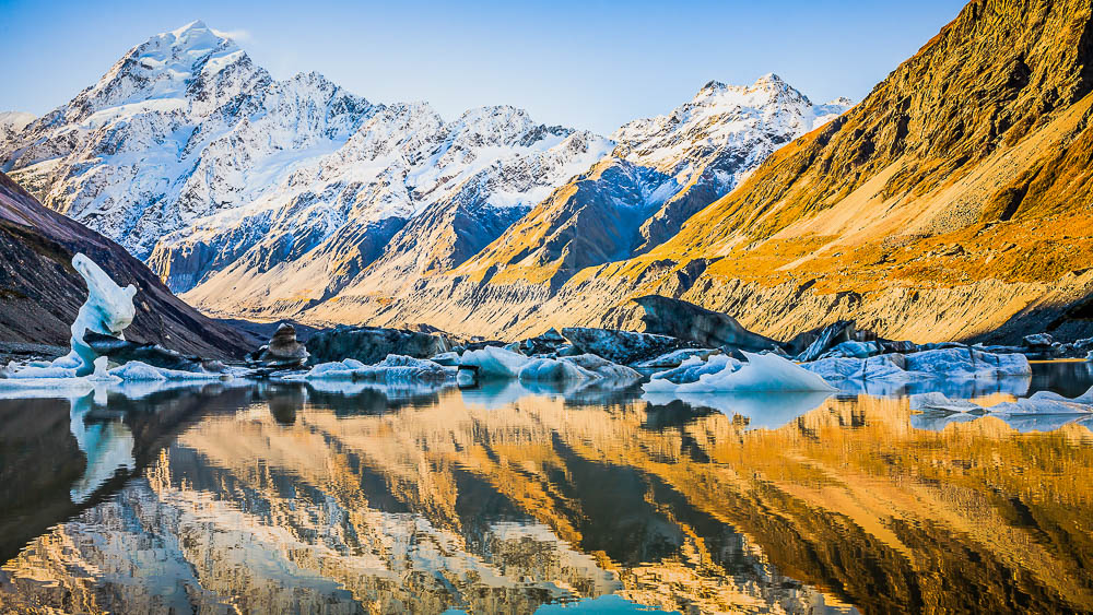 Mount Cook, Nouvelle Zélande © Shutterstock