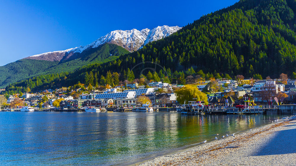 Queenstone, Nouvelle Zélande © Shutterstock