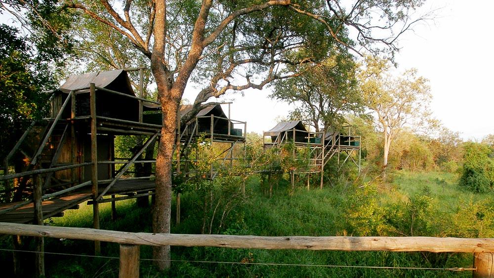 Under the Sky, Rhino Plains Camp