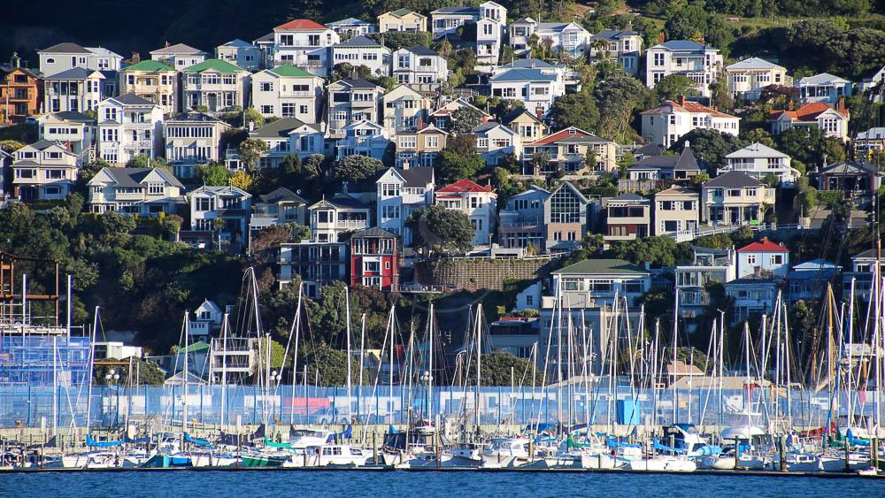 Wellington, Nouvelle Zélande © Shutterstock