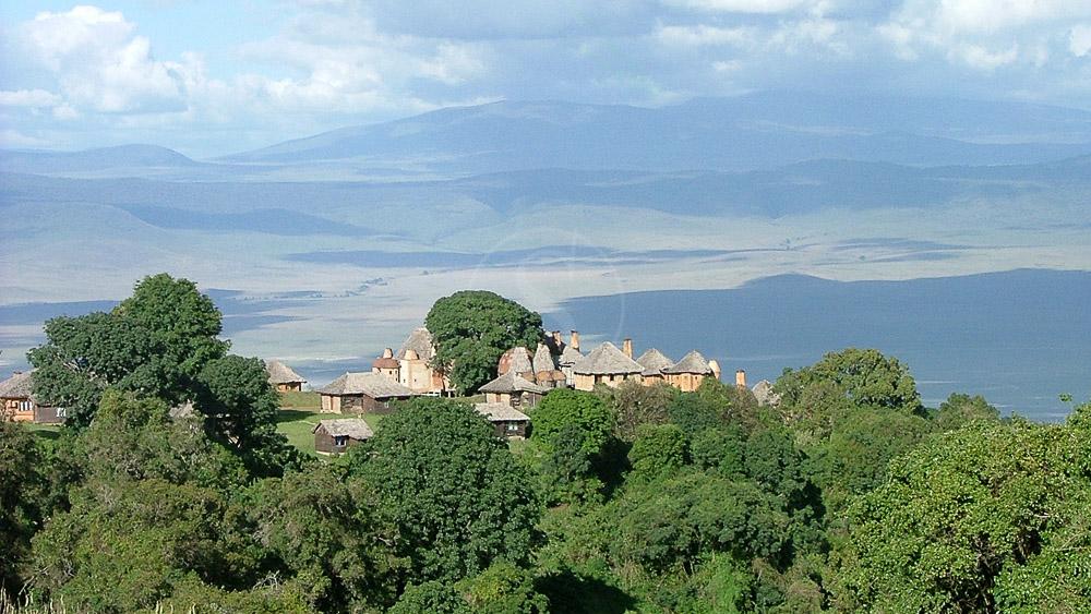 Ngorongoro Crater Lodge, Tanzanie © &Beyond