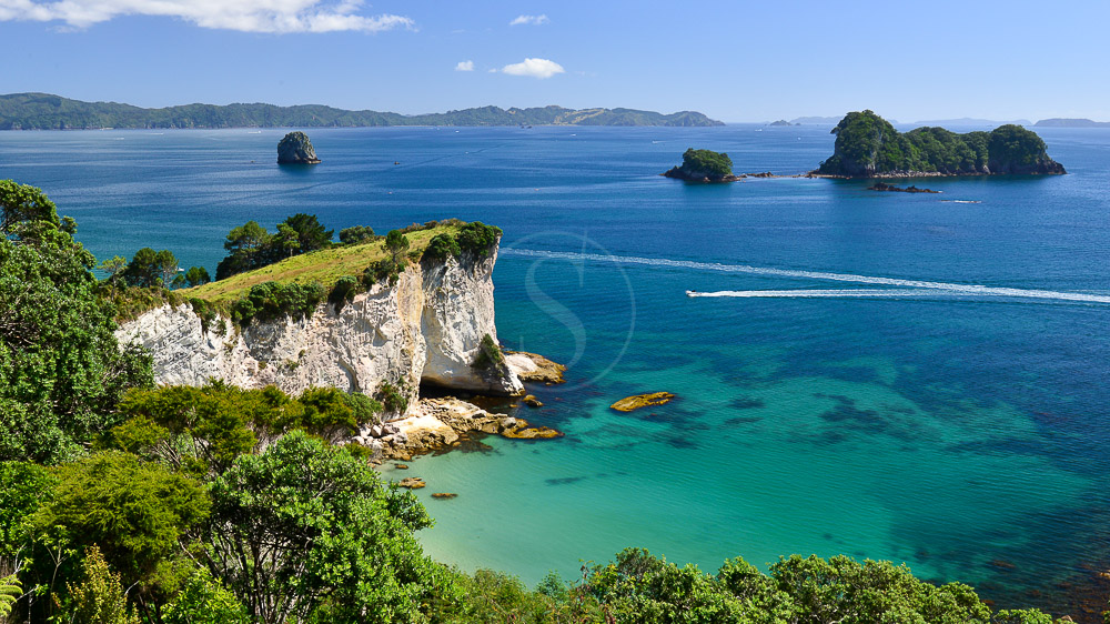 Péninsile de Coromandel, Nouvelle Zélande © Shutterstock