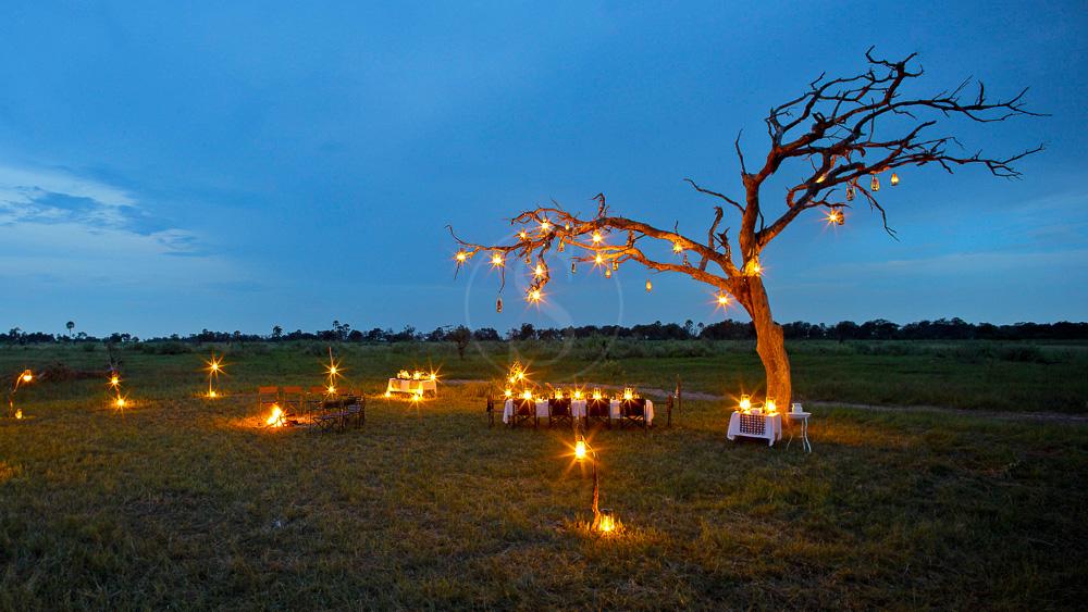Nxabega Camp, Delta de l'Okavango © &Beyond