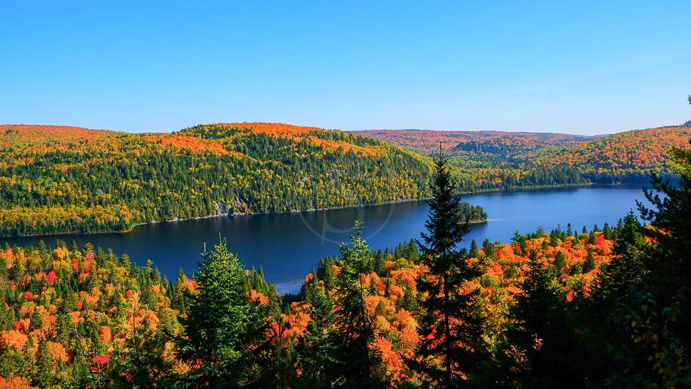 Parc National de Mauricie au Québec, Canada