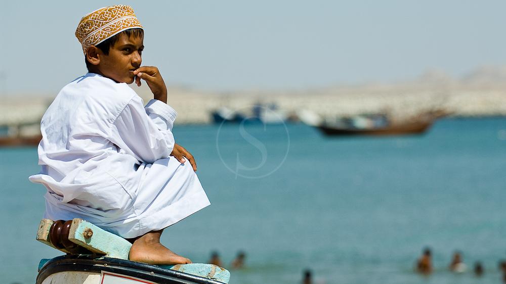 Plage d'Asaylah, Oman