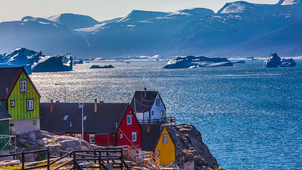 Village de Uummannaq, Groenland © Shutterstock