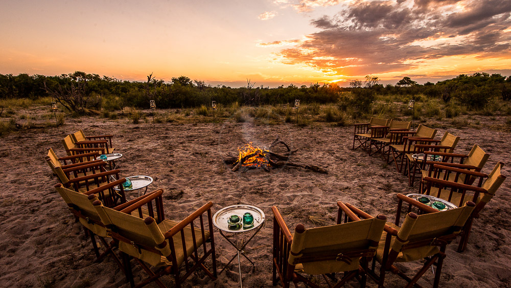 Vumbura Plains Camp, Botswana © Wilderness Safaris