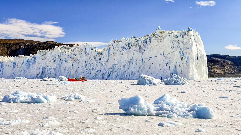 Glacier Eqi, Groenland © Shutterstock