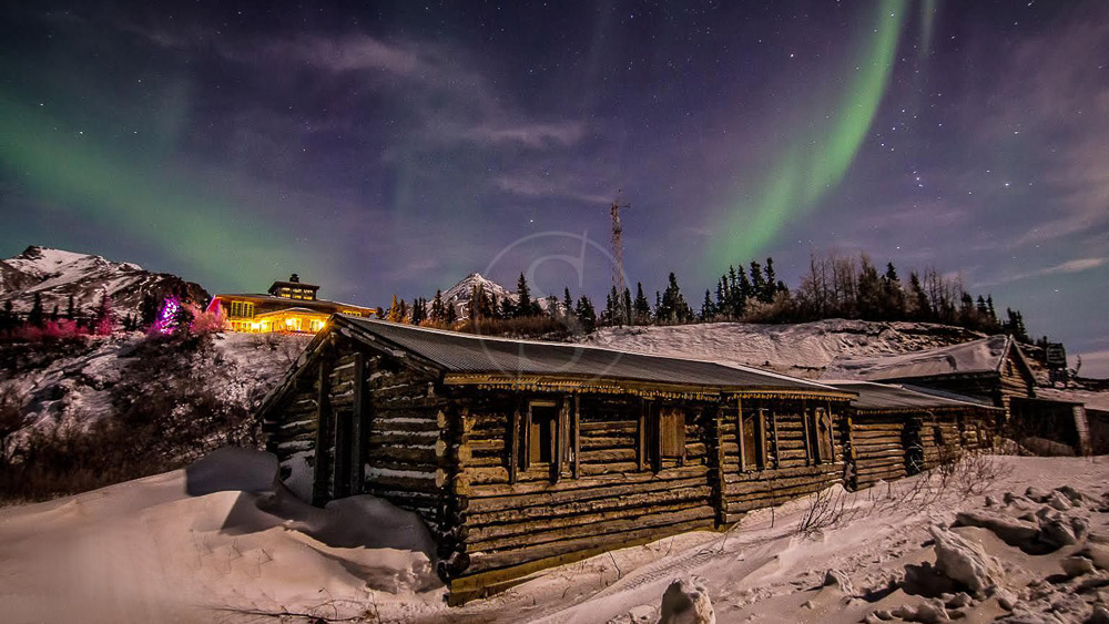 Black Rapids Lodge, Alaska © Entree Alaska