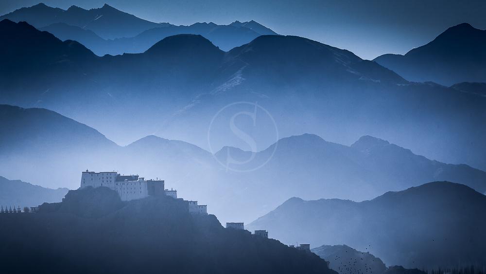 Monastère de Thiksey au Ladakh, Inde