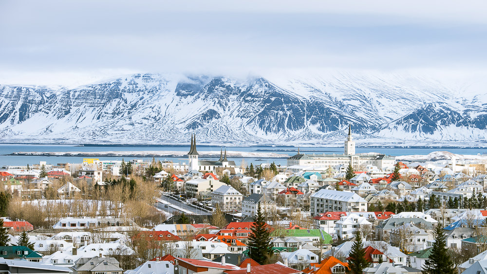 Reykjavik, Islande © Sstock