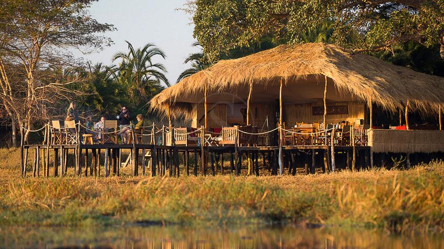 Busanga Plains Camp, Zambie