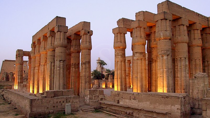 Temple de Luxor, Egypte