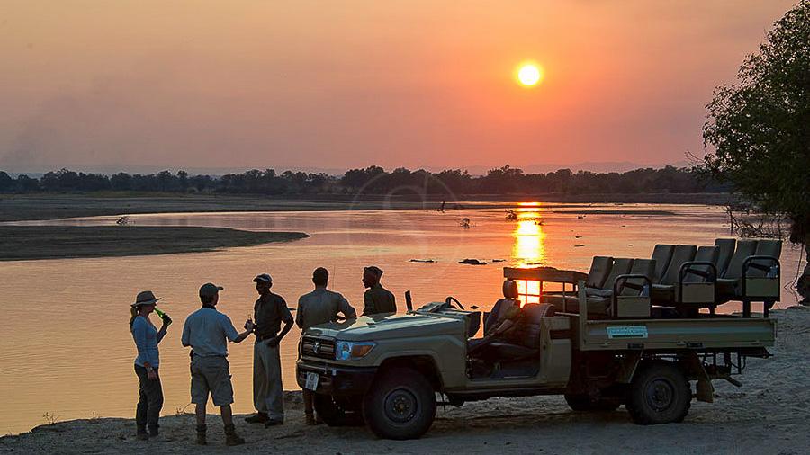Flatdogs Camp, Zambie