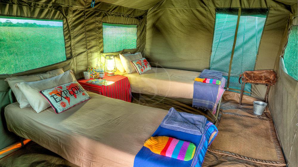 Campement itinérant, Botswana © Tous droits réservés