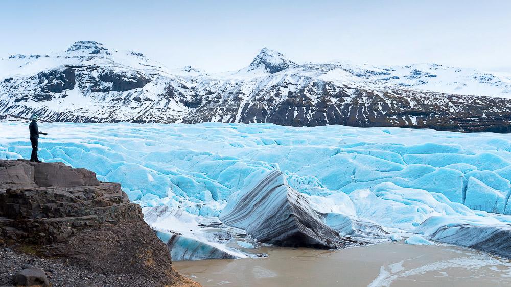 Svinafellsjokull, Islande © Sstock