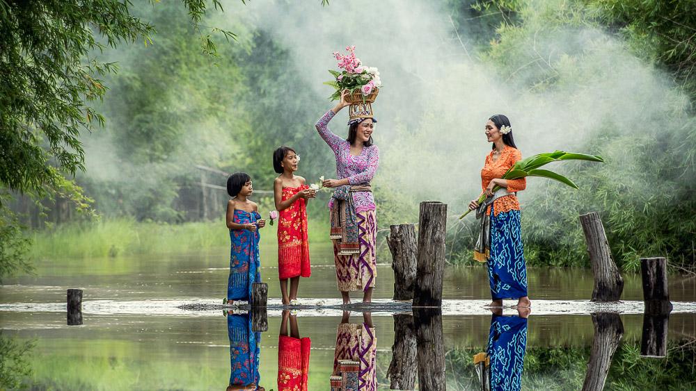 Région de Ubud, Bali, Indonésie
