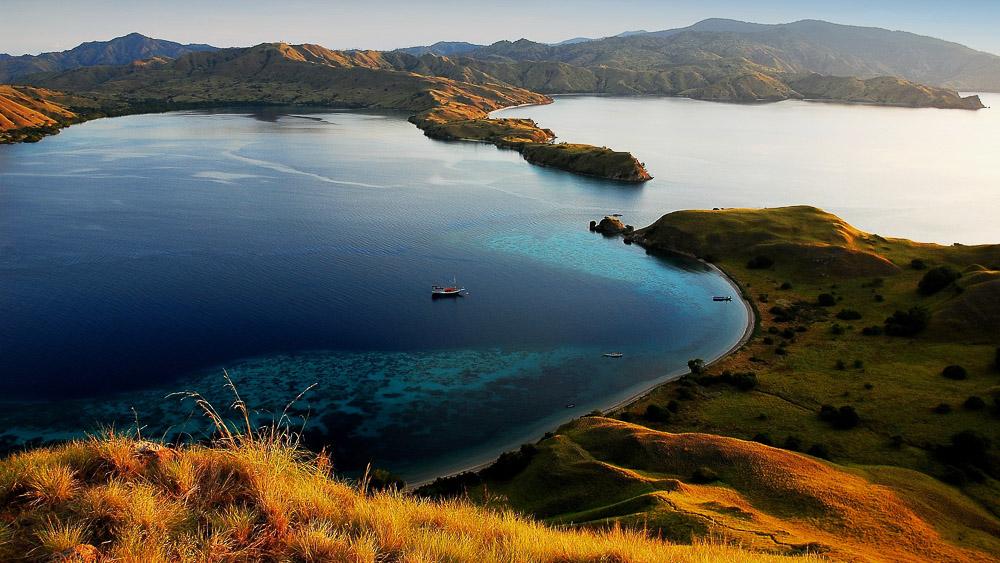 Ile de Komodo, Indonésie