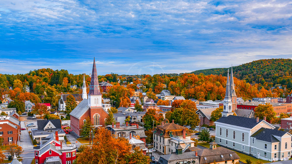 Vermont, Etats-Unis © Shutterstock