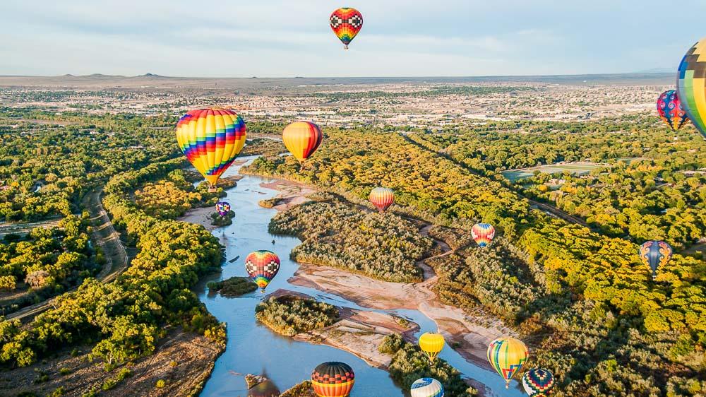 Albuquerque, Etats-Unis © Shutterstock