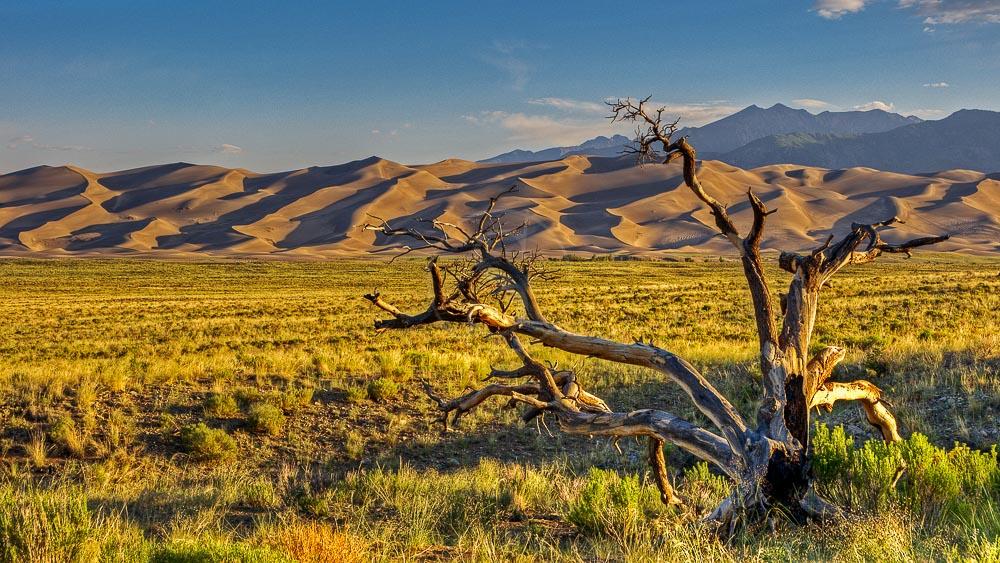 Great Sands Dunes, Etats-Unis © Shutterstock