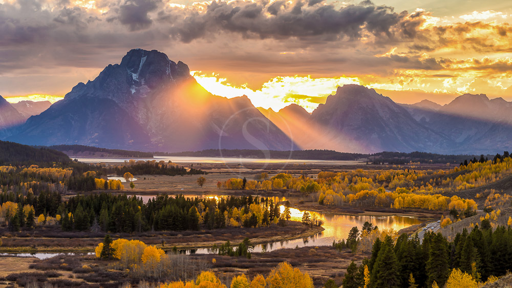 Grand Teton National Park, Etats-Unis © Shutterstock