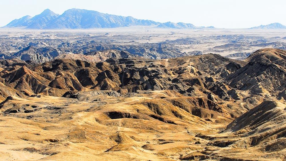 Vallée de la lune, Namibie