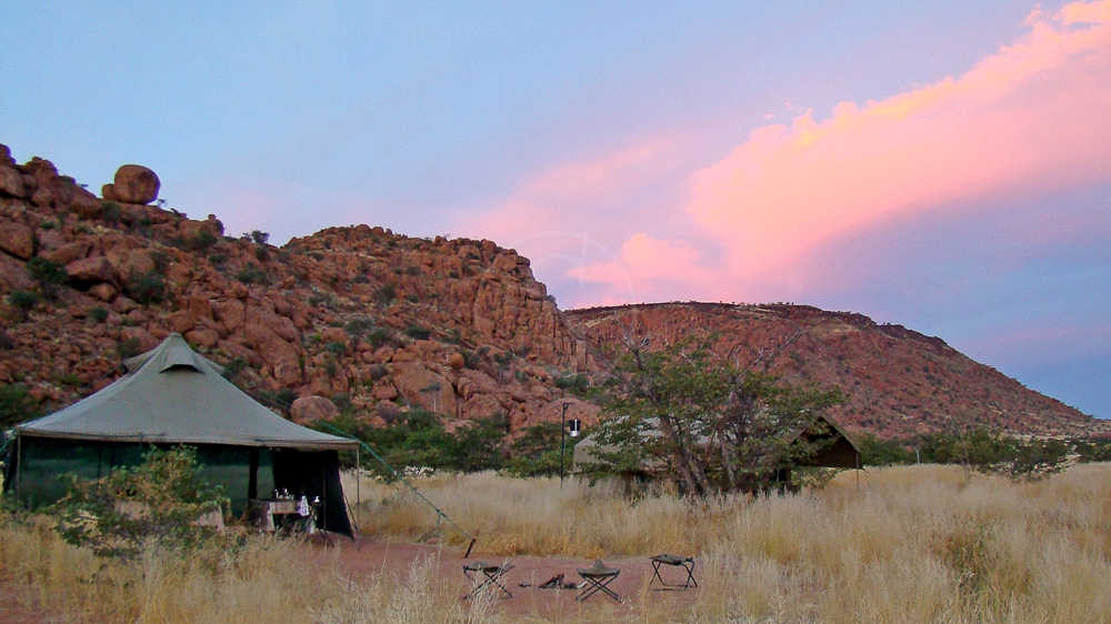 Safari en campement itinérant, Namibie