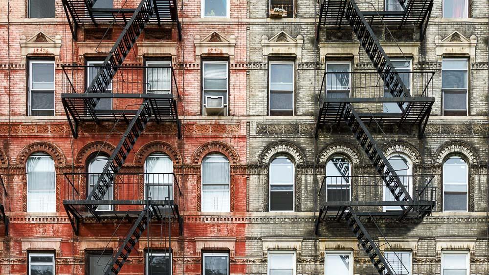East Village à New York, Etats-Unis © Shutterstock
