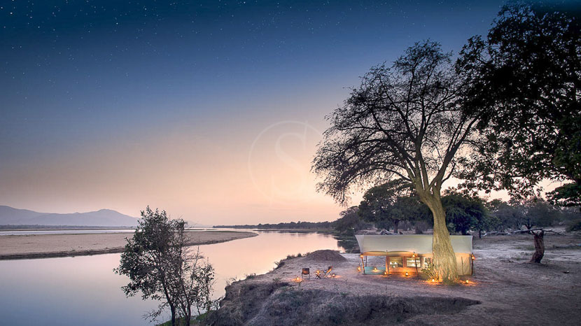Zambezi Expeditions Bush Camp, Zimbabwe © African Bush Camp
