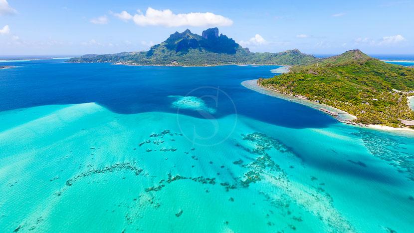 Île de Bora Bora, Polynésie Française