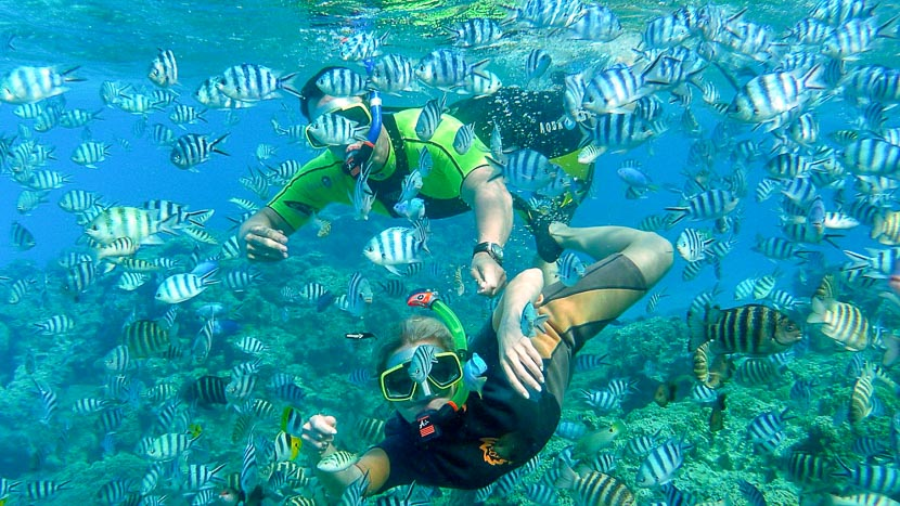 Journée polynésienne, Bora Bora ©  Tahiti Islands Travel