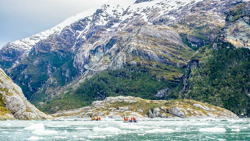 Glacier Garibald en Terre de Feu, Chili @ Shutterstock