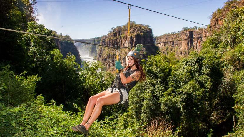 Canopy Tour à Victoria Falls © Paul Karnstedt